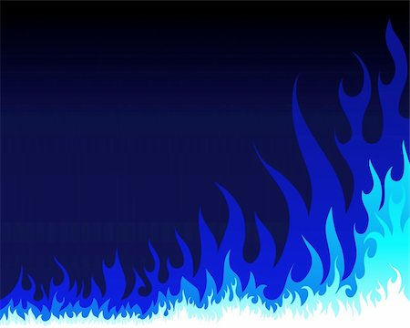 Inferno fire vector background for design use Stock Photo - Budget Royalty-Free & Subscription, Code: 400-04359084