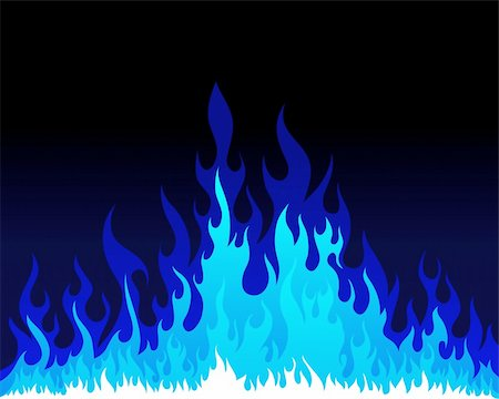 Inferno fire vector background for design use Stock Photo - Budget Royalty-Free & Subscription, Code: 400-04359083