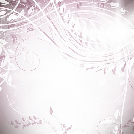 Romantic Flower Background Floral vector banners Stock Photo - Budget Royalty-Free & Subscription, Code: 400-04359130