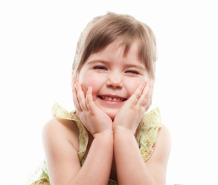 raysay (artist) - Little girl smiling Stock Photo - Budget Royalty-Free & Subscription, Code: 400-04351342