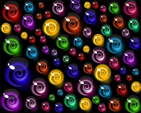 simsearch:400-04344039,k - vector background of colorful decorative candy elements. Stock Photo - Budget Royalty-Free & Subscription, Code: 400-04369036