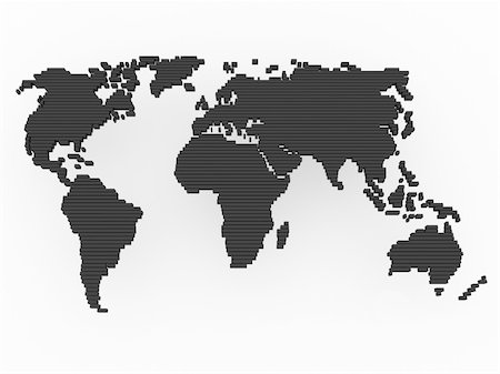 world, map , earth, europe, america, africa, asia Stock Photo - Budget Royalty-Free & Subscription, Code: 400-04369787