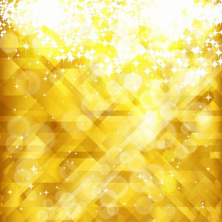 firework illustration - Stars golden background and place for your text , vector, EPS 10 Stock Photo - Budget Royalty-Free & Subscription, Code: 400-04360087