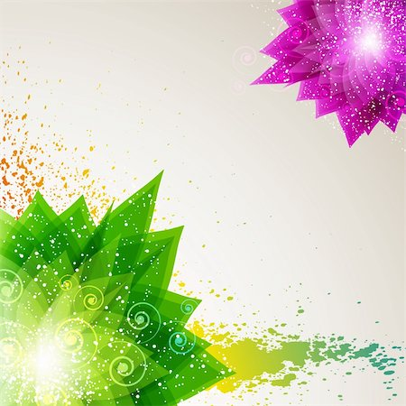 Floral abstract background. eps10 Stock Photo - Budget Royalty-Free & Subscription, Code: 400-04360102