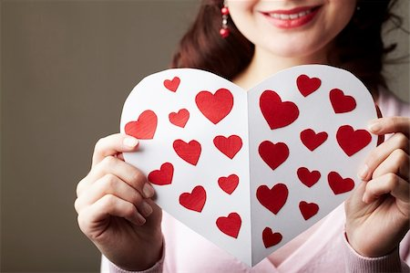 forever - Close-up of female hands holding valentine card Stock Photo - Budget Royalty-Free & Subscription, Code: 400-04361040