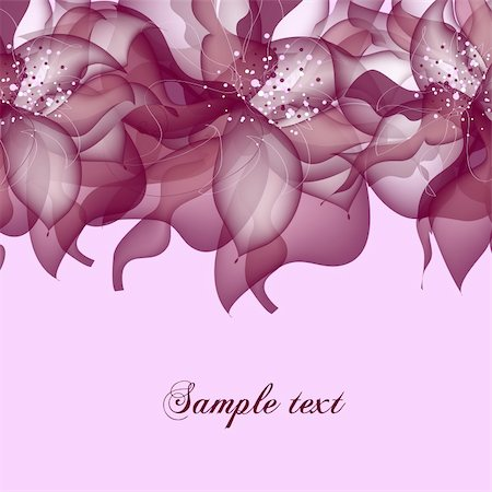 flores - Greeting card in grunge or retro style. Design congratulation christmas vector Stock Photo - Budget Royalty-Free & Subscription, Code: 400-04370615