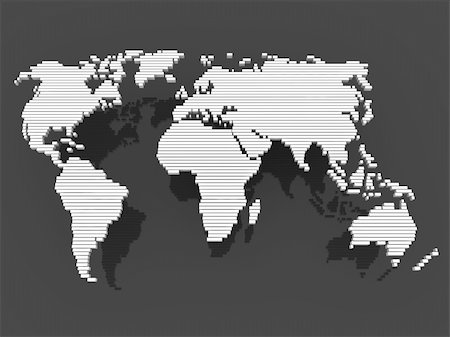 world, map , earth, europe, america, africa, asia Stock Photo - Budget Royalty-Free & Subscription, Code: 400-04373007