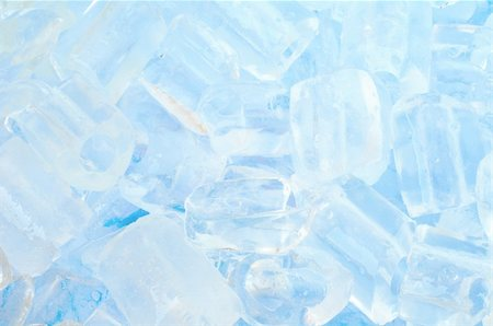 fresh cool ice cube background in blue light Stock Photo - Budget Royalty-Free & Subscription, Code: 400-04385631