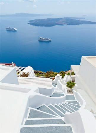 An image of Santorini island of Greece Stock Photo - Budget Royalty-Free & Subscription, Code: 400-04381118