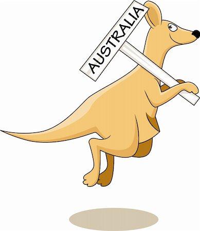 Kangaroo Australia Stock Photo - Budget Royalty-Free & Subscription, Code: 400-04392875