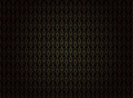 Vintage Wallpaper - Golden Ornaments on Black Background Stock Photo - Budget Royalty-Free & Subscription, Code: 400-04406892