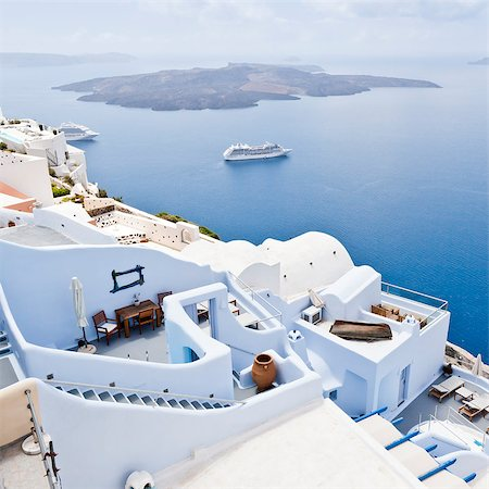 An image of a nice Santorini view Stock Photo - Budget Royalty-Free & Subscription, Code: 400-04419776