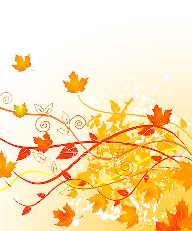Autumn  gold background with copy space Stock Photo - Budget Royalty-Free & Subscription, Code: 400-04421271