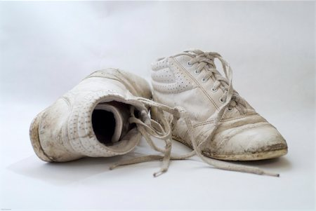 A pair of old nondescript sneakers Stock Photo - Budget Royalty-Free & Subscription, Code: 400-04432828