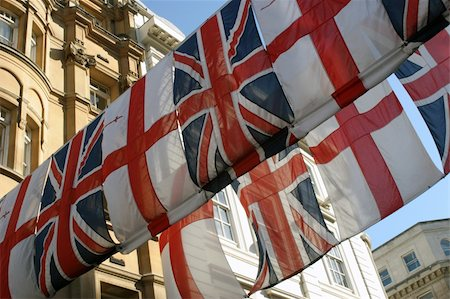 The Flags of England and Great Britain. Stock Photo - Budget Royalty-Free & Subscription, Code: 400-04433342