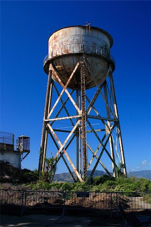 Rusty old water tower Stock Photo - Budget Royalty-Free & Subscription, Code: 400-04433767