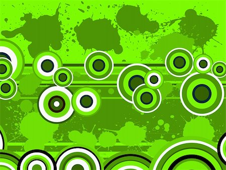 spilling blood texture - Green Circle Graphic with splats (Vector Graphic) Stock Photo - Budget Royalty-Free & Subscription, Code: 400-04451643