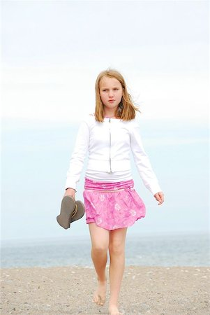 preteen thong - Young preteen girl walking on a sandy beach Stock Photo - Budget Royalty-Free & Subscription, Code: 400-04472136