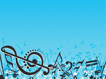 simsearch:400-04676325,k - vector illustration of beautifull musical notes background enjoy the party Stock Photo - Budget Royalty-Free & Subscription, Code: 400-04492188