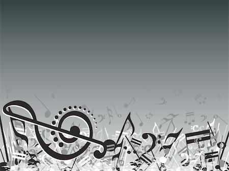 simsearch:400-04676325,k - vector illustration of beautifull musical notes background enjoy the party Stock Photo - Budget Royalty-Free & Subscription, Code: 400-04492229