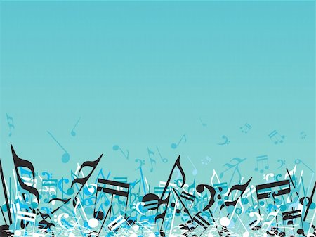 simsearch:400-04676325,k - vector illustration of beautifull musical notes background enjoy the party Stock Photo - Budget Royalty-Free & Subscription, Code: 400-04492234
