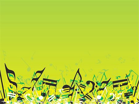 simsearch:400-04676325,k - vector illustration of beautifull musical notes background enjoy the party Stock Photo - Budget Royalty-Free & Subscription, Code: 400-04492230