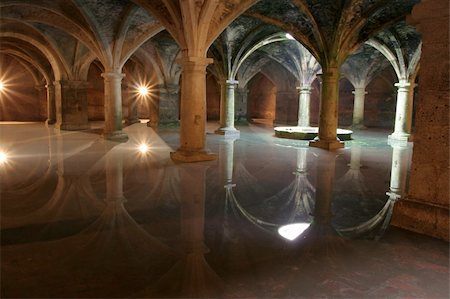 dreef - Mystical vaults of UNESCO world heritage object in Morocco, El Jadida, Africa. Popular place for tourists and travellers. Stock Photo - Budget Royalty-Free & Subscription, Code: 400-04515699