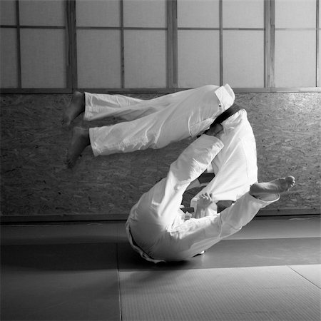 judo fight Stock Photo - Budget Royalty-Free & Subscription, Code: 400-04526992