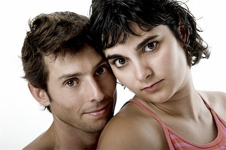 Young beautiful couple Stock Photo - Budget Royalty-Free & Subscription, Code: 400-04554371