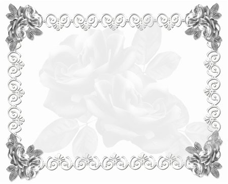 decorative black and white cards - An element of design for a congratulatory background.  Black-and-white Stock Photo - Budget Royalty-Free & Subscription, Code: 400-04560343
