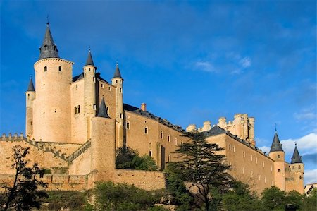 Given the Alcazar sunny day in Segovia (Spain) Stock Photo - Budget Royalty-Free & Subscription, Code: 400-04563072