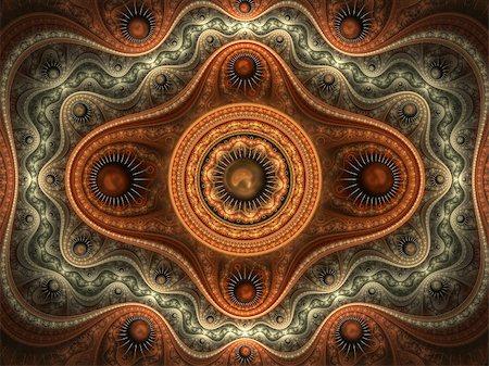 pinball - fractal abstract Stock Photo - Budget Royalty-Free & Subscription, Code: 400-04576121