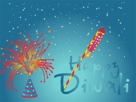fireworks with yellow and green background - firework background Vector design5 Stock Photo - Budget Royalty-Free & Subscription, Code: 400-04578020