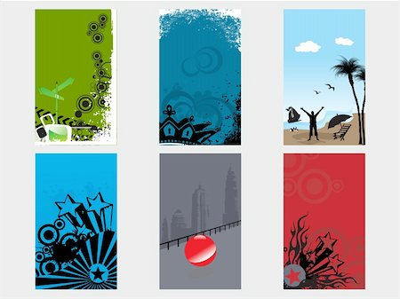 creative abstract vector banner set1 Stock Photo - Budget Royalty-Free & Subscription, Code: 400-04585802