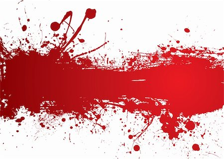 spilling blood texture - Blood red banner with room to add your own text Stock Photo - Budget Royalty-Free & Subscription, Code: 400-04594310