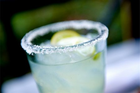 An image of a Margarita with salt Stock Photo - Budget Royalty-Free & Subscription, Code: 400-04595170