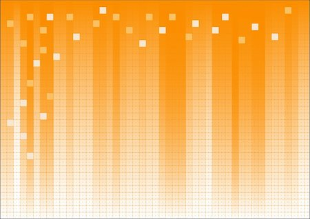 pokerman (artist) - Orange Fading Business Graphic with dots and suqares overlaid Stock Photo - Budget Royalty-Free & Subscription, Code: 400-04590889