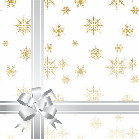 simsearch:400-04369855,k - Gift bow ribbon, christmas Stock Photo - Budget Royalty-Free & Subscription, Code: 400-04593659