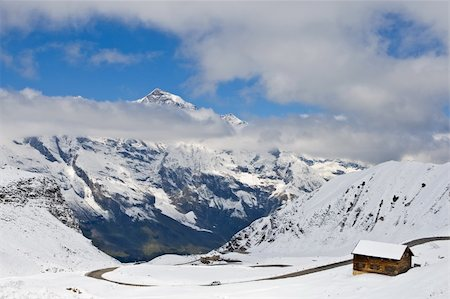 Grossglockner high alpine road, National Park Hohe Tauern, Austria Stock Photo - Budget Royalty-Free & Subscription, Code: 400-04606575