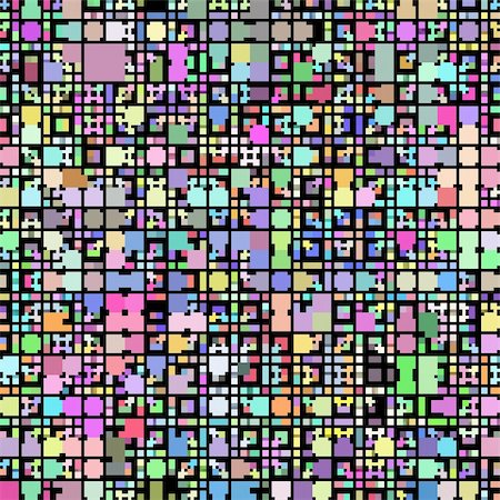 texture of vibrant colorful blocks and squares Stock Photo - Budget Royalty-Free & Subscription, Code: 400-04617362