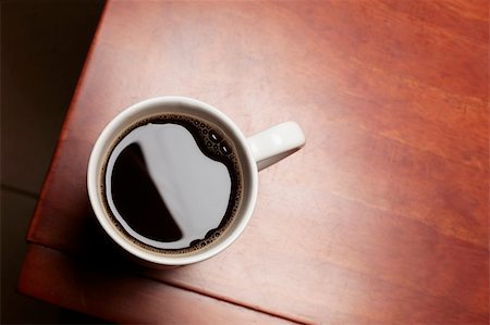 spanishalex (artist) - Black coffee on a table Stock Photo - Budget Royalty-Free & Subscription, Code: 400-04625855