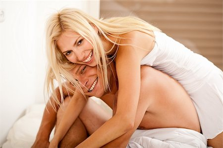Great inlove couple having fun Stock Photo - Budget Royalty-Free & Subscription, Code: 400-04621227
