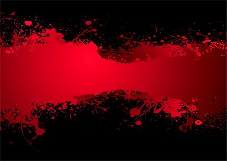 spilling blood texture - Bright blood red ink banner with room to add your own text Stock Photo - Budget Royalty-Free & Subscription, Code: 400-04633911