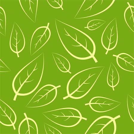 simsearch:400-04765926,k - Fresh green leafs texture - seamless pattern Stock Photo - Budget Royalty-Free & Subscription, Code: 400-04648640