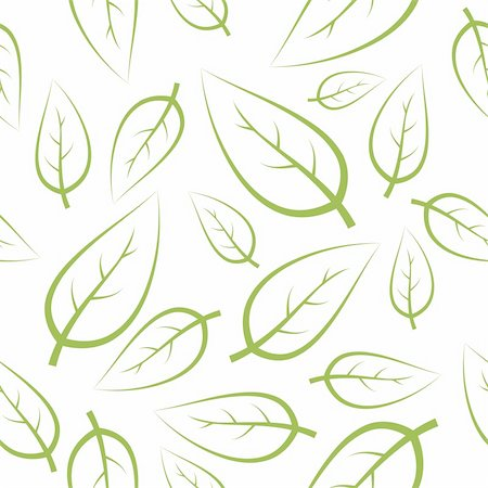 simsearch:400-04765926,k - Fresh green leafs texture - seamless pattern Stock Photo - Budget Royalty-Free & Subscription, Code: 400-04648657