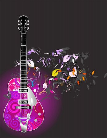 guitar Stock Photo - Budget Royalty-Free & Subscription, Code: 400-04649444