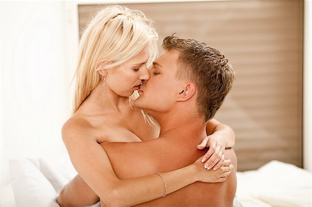 Guy and lady kissing and embracing each other Stock Photo - Budget Royalty-Free & Subscription, Code: 400-04642411