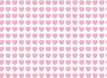 Vector swatch heart striped fabric wallpaper in pink and ecru that matches Valentine borders. Stock Photo - Budget Royalty-Free & Subscription, Code: 400-04668342