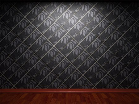 simsearch:400-05245734,k - illuminated tile wall made in 3D graphics Stock Photo - Budget Royalty-Free & Subscription, Code: 400-04679915