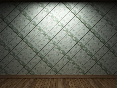 simsearch:400-05245734,k - illuminated tile wall made in 3D graphics Stock Photo - Budget Royalty-Free & Subscription, Code: 400-04679918